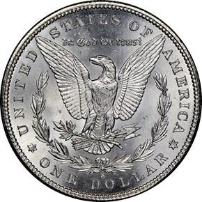 1900 S $1 MS reverse