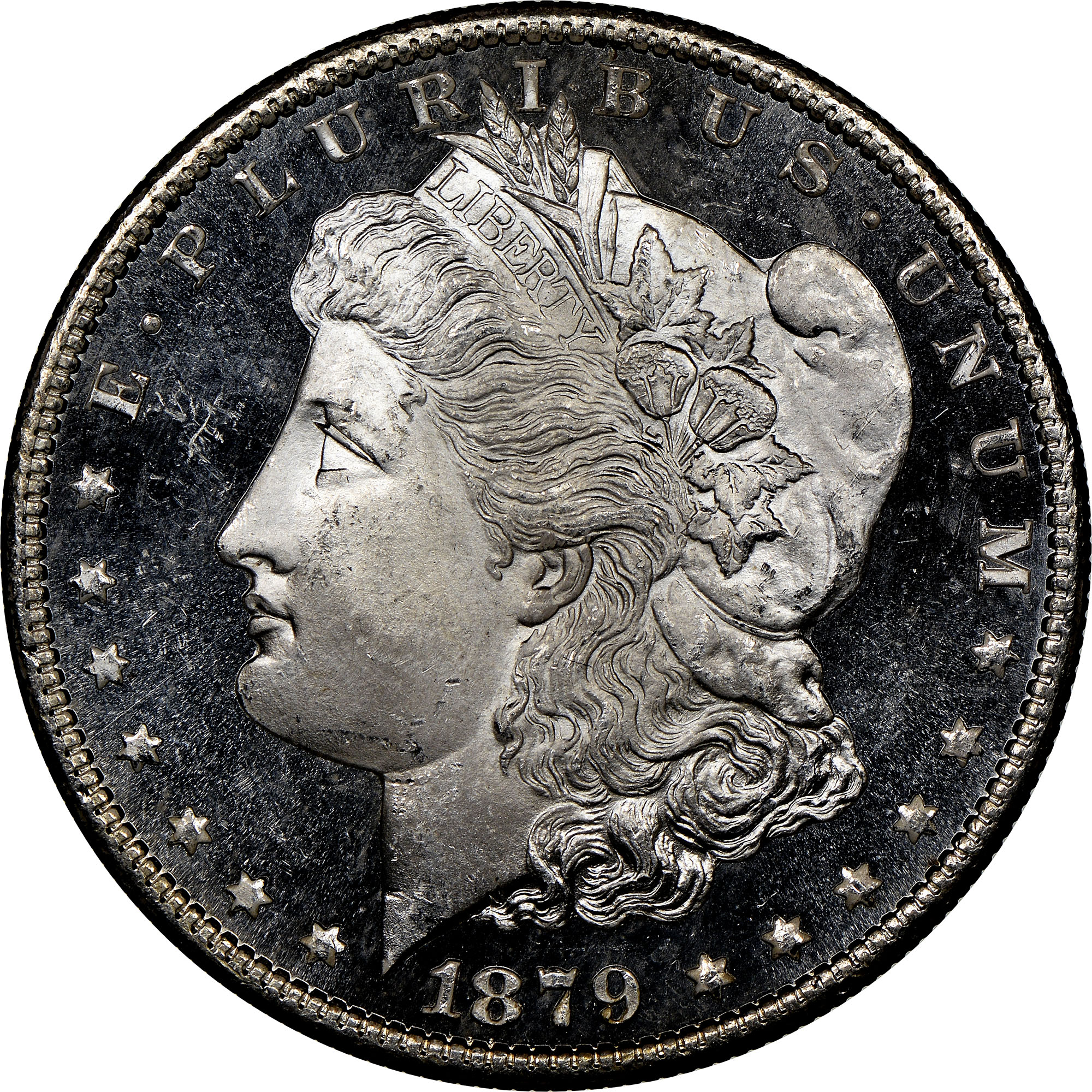 1879 S 1 Ms Morgan Dollars Ngc