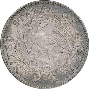 1796 10C MS reverse
