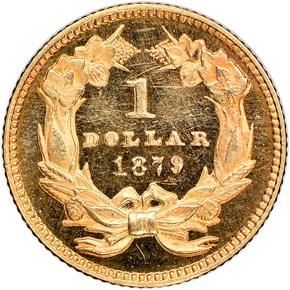 1879 G$1 MS reverse