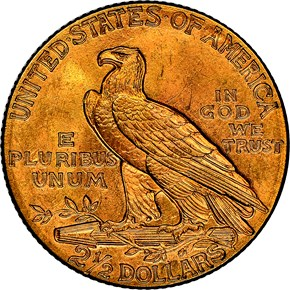 1912 $2.5 MS reverse