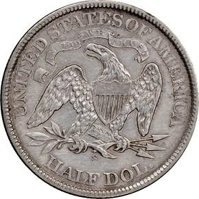 1868 S 50C MS reverse