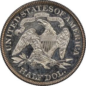 1885 50C PF reverse