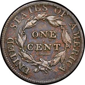 1812 1C MS reverse