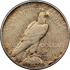 1934 D $1 MS reverse