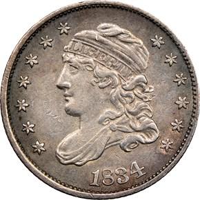 1834 H10C MS obverse