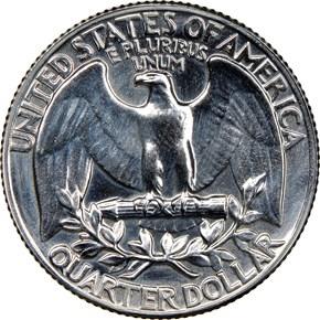 1958 25C MS reverse