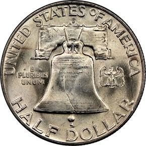 1950 D 50C MS reverse