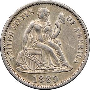 1898 10C MS obverse