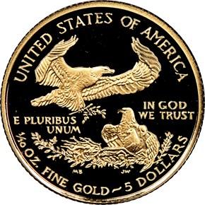 2007 W EAGLE G$5 PF reverse