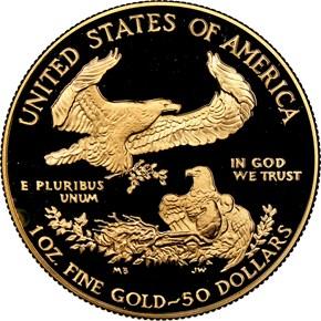 1988 W EAGLE G$50 PF reverse