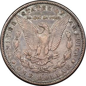 1892 S $1 MS reverse