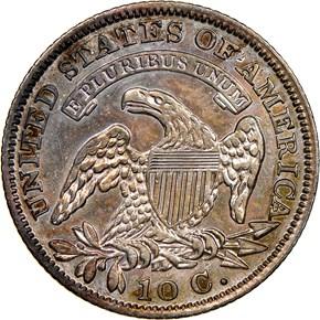 1829 10C MS reverse