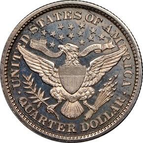 1897 25C PF reverse