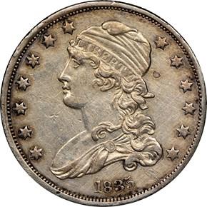 1835 25C MS obverse