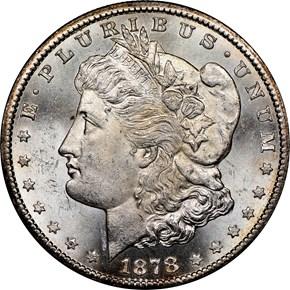 1878 CC $1 MS obverse