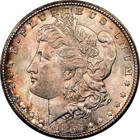 1885 CC $1 MS obverse