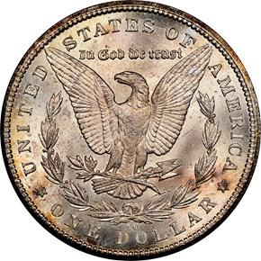 1885 CC $1 MS reverse