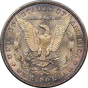 1898 $1 MS reverse