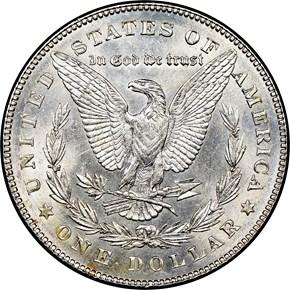1878 7TF REV OF 78 $1 MS reverse