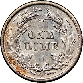 1903 O 10C MS reverse
