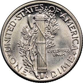 1939 10C MS reverse