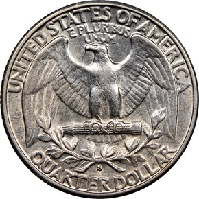 1932 S 25C MS reverse