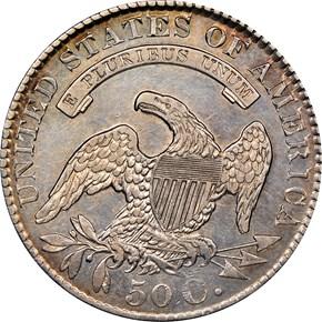 1829 50C MS reverse