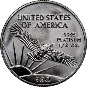 1998 EAGLE P$50 MS reverse