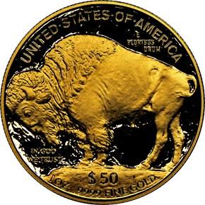 2006 W BUFFALO .9999 FINE G$50 PF reverse