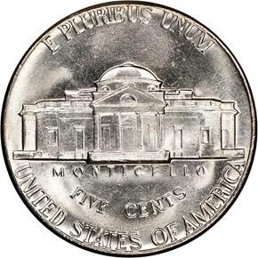 1973 D 5C MS reverse