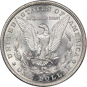 1879 O $1 MS reverse