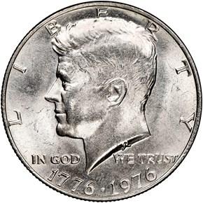 1776-1976 50C MS obverse