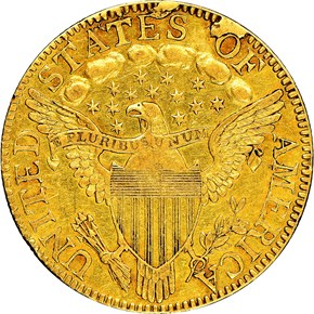 1798 SMALL EAGLE BD-1 $5 MS reverse