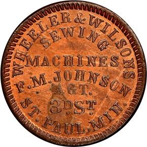 (1861-65) ST. PAUL F-760B-1a MN MS obverse