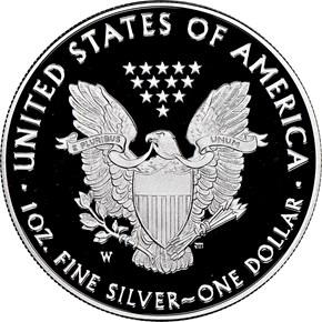 2020 W Eagle 'V75' S$1 PF reverse