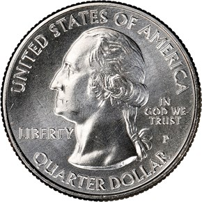 2019 P Lowell Historical Park 25C MS obverse