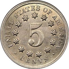 1869 5C MS reverse
