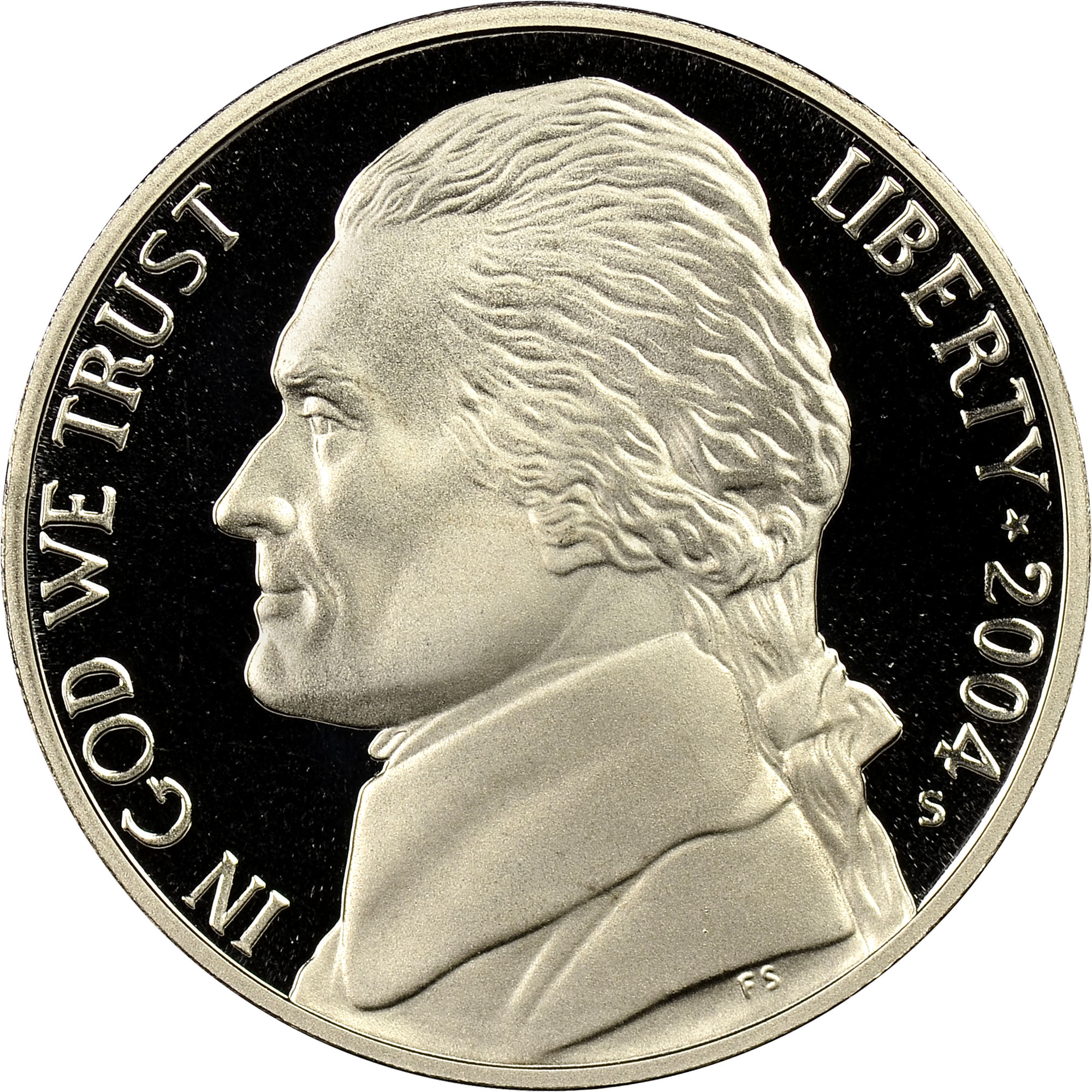 2019-S 5C JEFFERSON Nickel From 10-Coin SILVER PROOF SET NGC PF 70 Ultra Cameo
