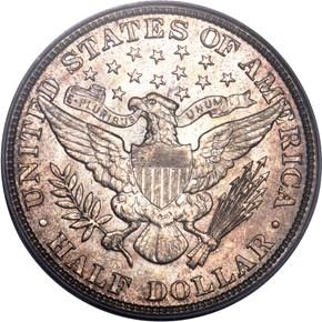 1911 50C MS reverse