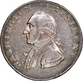 1791 SMALL EAGLE WASHINGTON PRESIDENT 1C MS obverse
