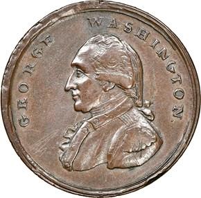 (1795) L.E. 'ASYLUM' LIBERTY & SECURITY 1P MS obverse