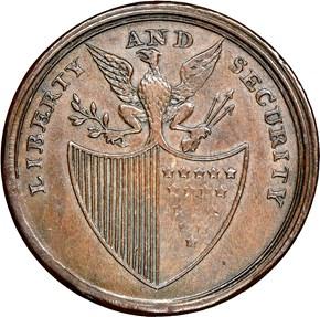 (1795) L.E. 'ASYLUM' LIBERTY & SECURITY 1P MS reverse