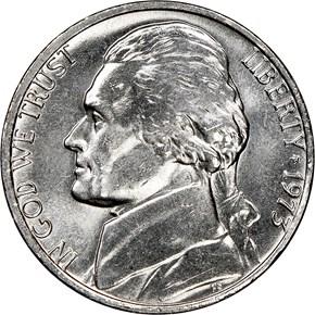 1973 5C MS obverse