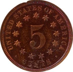 1872 J-1189 5C PF reverse