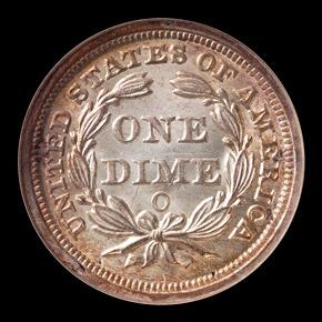 1858 O 10C MS reverse