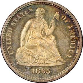 1865 H10C PF obverse