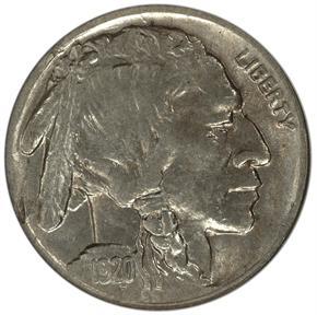 1920 D 5C MS obverse