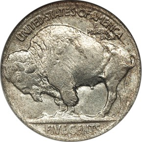 1919 D 5C MS reverse