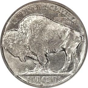 1935 D 5C MS reverse